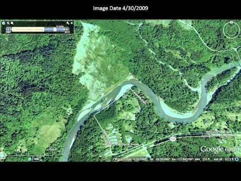 Google Image of Oso Landslide Area