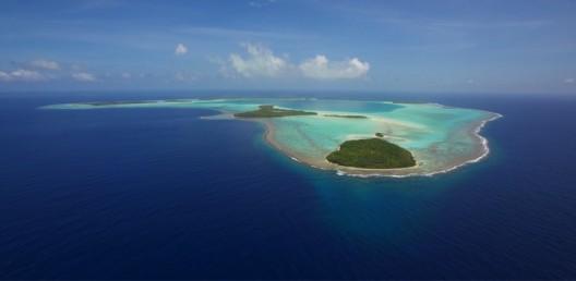 Tetiaroa Atoll in the South Pacific