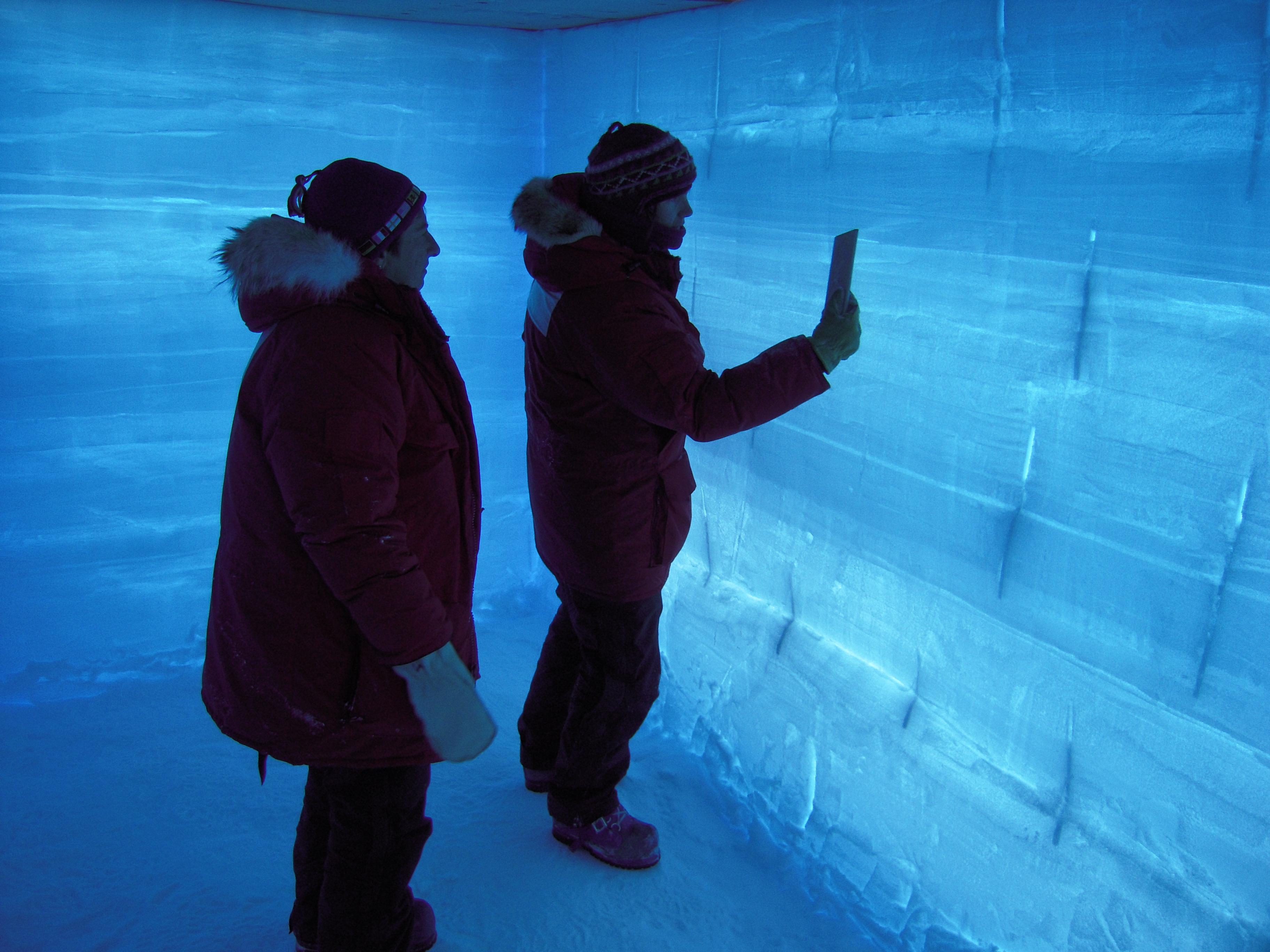 ice core age dating During the ice age,  and scores of other methods such as tree rings and ice cores all of the different dating methods agree--they agree a great majority of the.