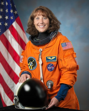 Dorothy Metcalf-Lindenburger, former astronaut and current graduate student at the University of Washington.