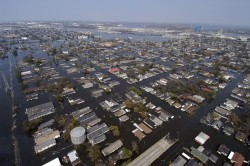 Four days after Katrina made landfall on the Gulf Coast.