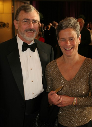 Doug and Maggie Walker at the University of Washington Gala in 2007.
