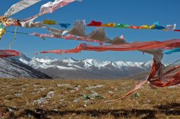 Winds from the west blow across a high-elevation pass on the Tibetan Plateau, more strongly in wintertime. New research shows they have blown since the plateau was closer to sea level.