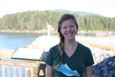 UW Environment grad student Amy Brodbeck.