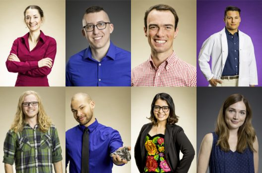 2017 Husky 100 winners from the College of the Environment.
