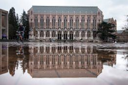 University of Washington's Suzzallo Library
