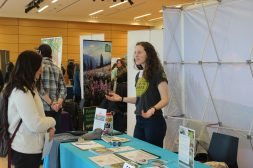 Earth Corps booth at the 2020 Environmental Career Fair