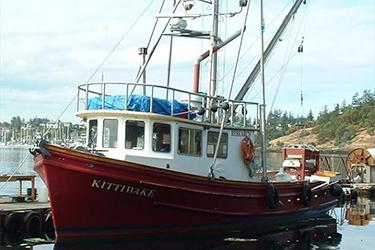 The R/V Kittiwake