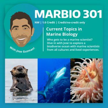 Graphic: MARBIO 301 with Jose Guzman