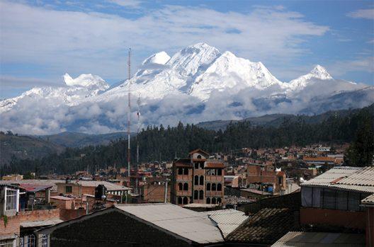 Cordillera Blanca mountains