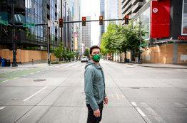 Nick Tritt in downtown Seattle