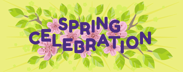 Spring Celebration graphic